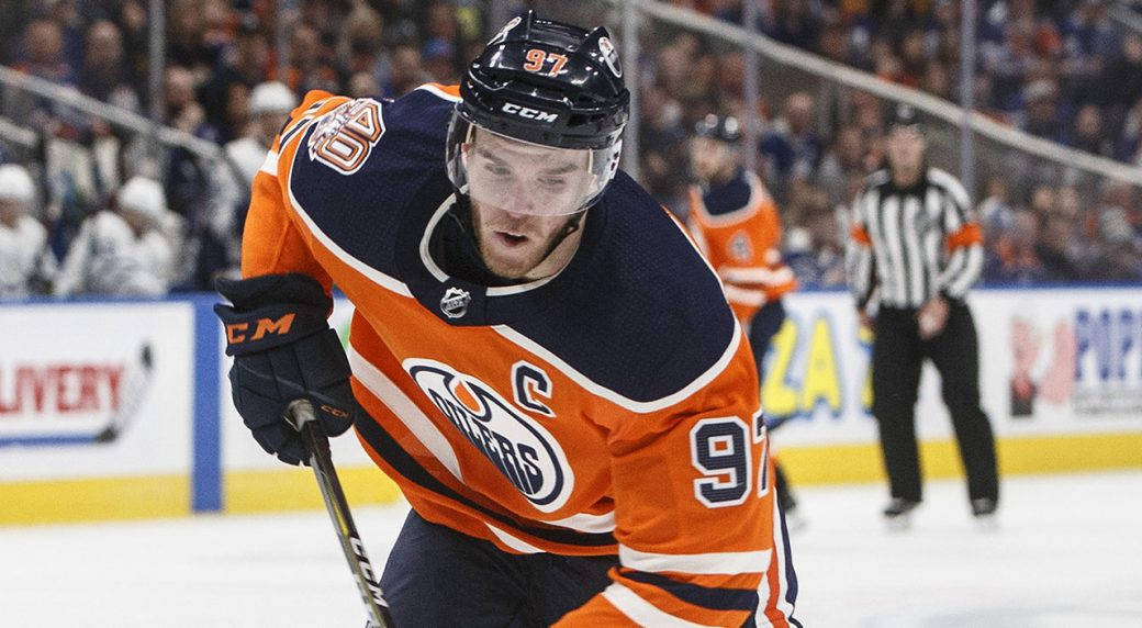 7257ffa9aac Oilers' Connor McDavid declines to comment on knee injury recovery ...