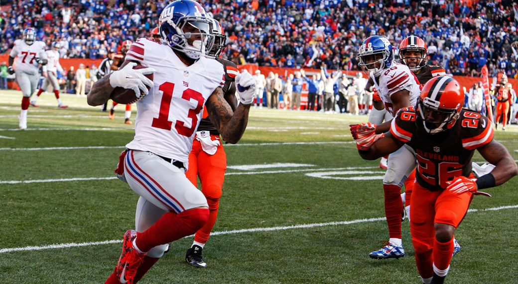Browns to acquire Odell Beckham Jr. from Giants
