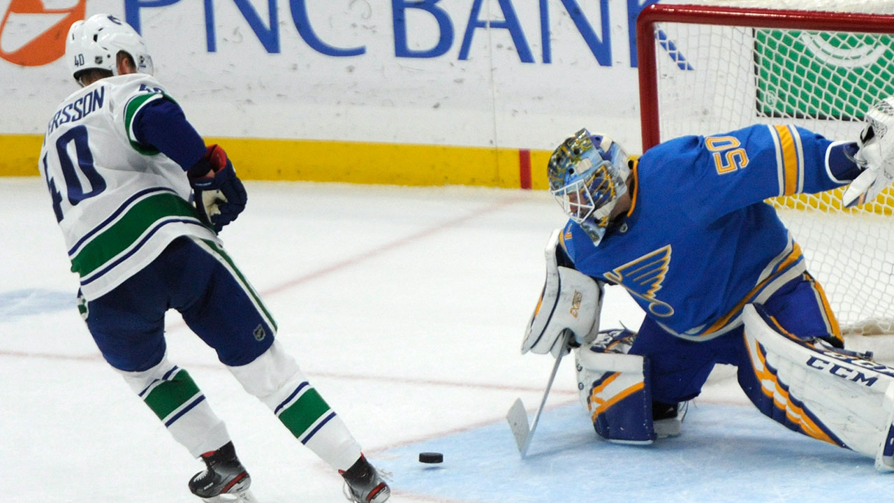 Blues Beat Canucks In Shootout, Complete Amazing Comeback Run