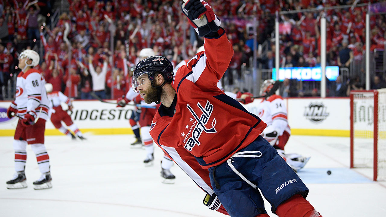 Capitals' sport a six-pack en route to complete destruction of Carolina in game 5