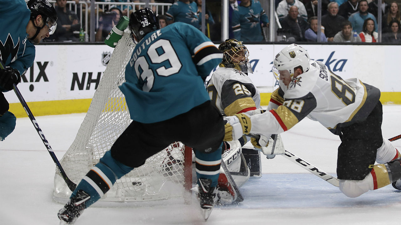 Over The Hertl. Tomas' Two Goal Performance Gets The Sharks Back In The Series