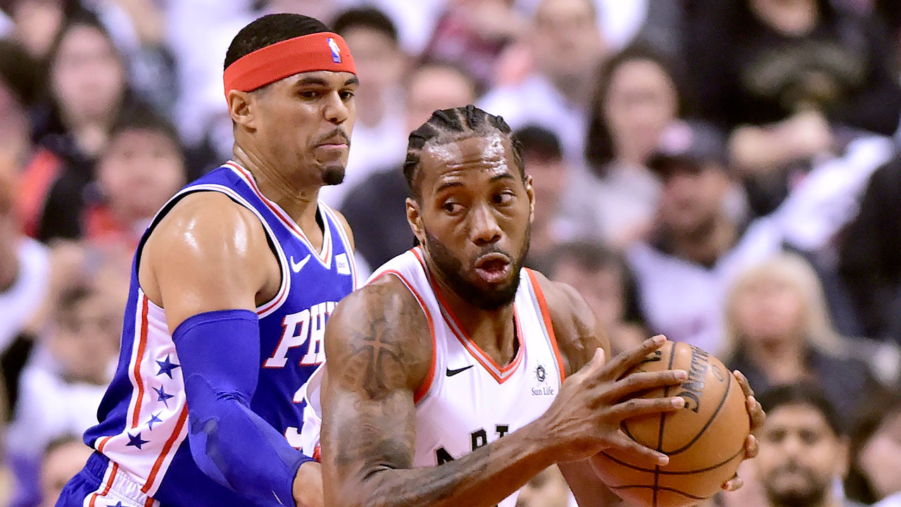 Sixers' Simmons gets some revenge on Raptors' Leonard