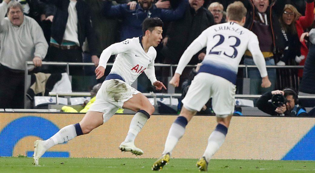 Champions League Review Spurs Come Up Big Vs Man City Sportsnetca