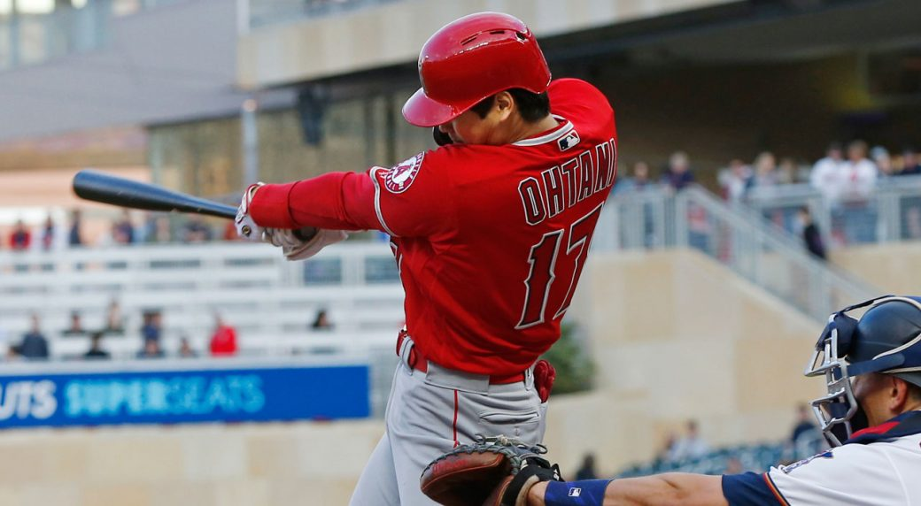 29bbc43bf Ohtani hits first home run of season for Angels in win over Twins ...