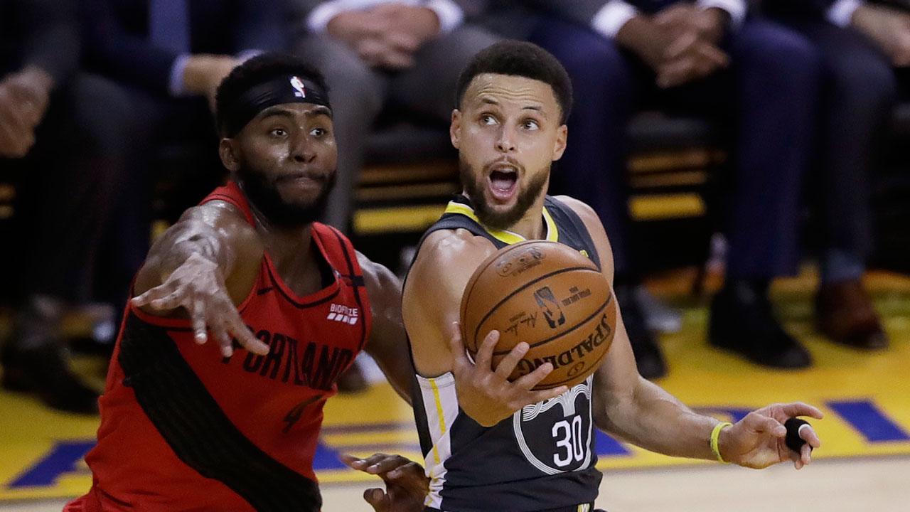 NBA Live Tracker: Warriors vs. Trail Blazers, Game 3