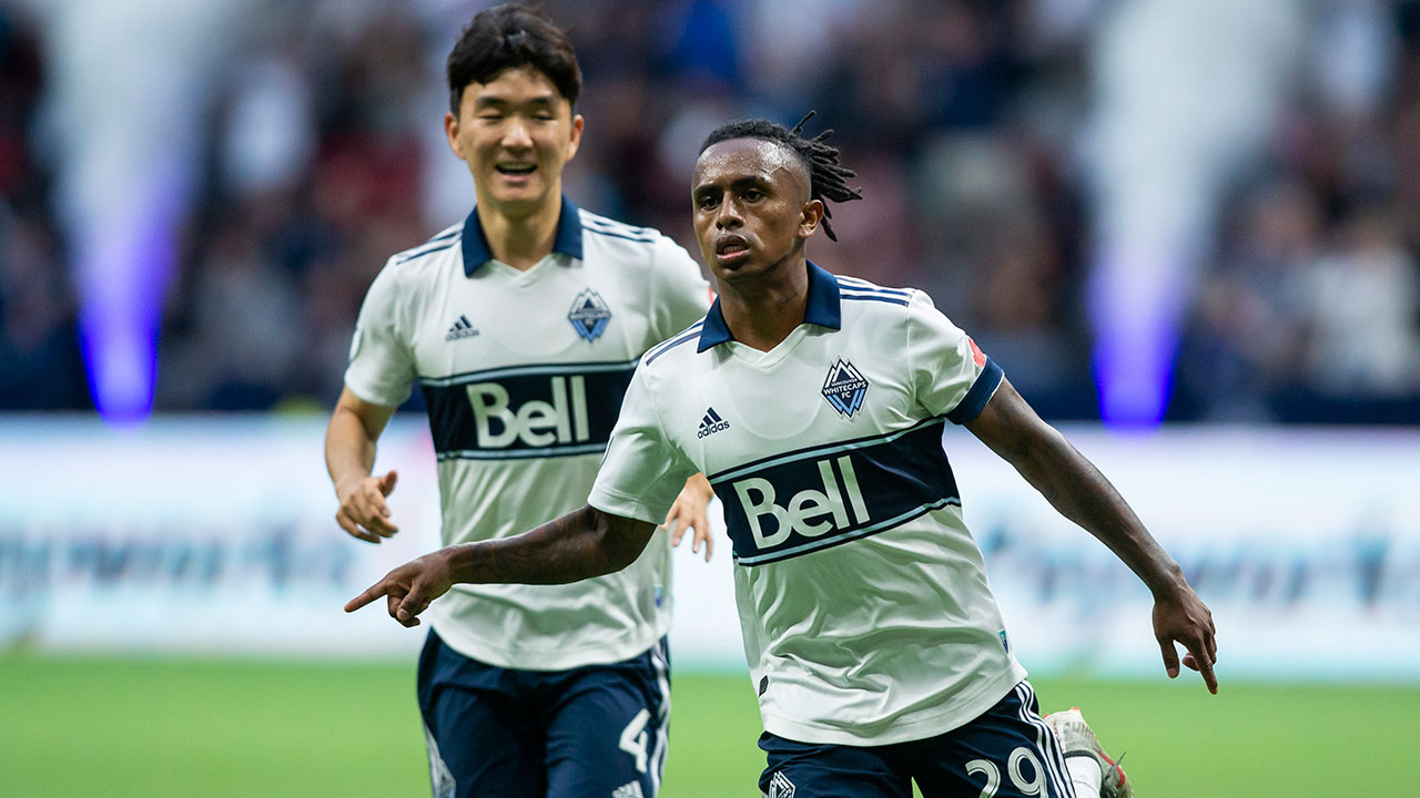 Yordy Reyna, Whitecaps battle from two down for draw against Rapids
